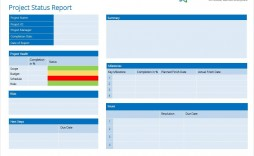 006 Excellent Project Management Weekly Statu Report Sample High Definition  Template Excel Ppt