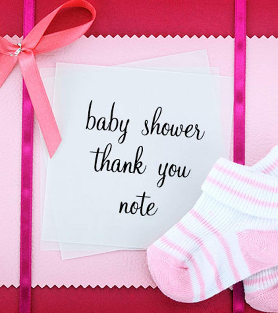006 Excellent Thank You Note Wording For Baby Shower Gift Picture  Card Sample Example LetterFull