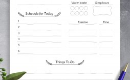 006 Excellent Thing To Do List Template Photo