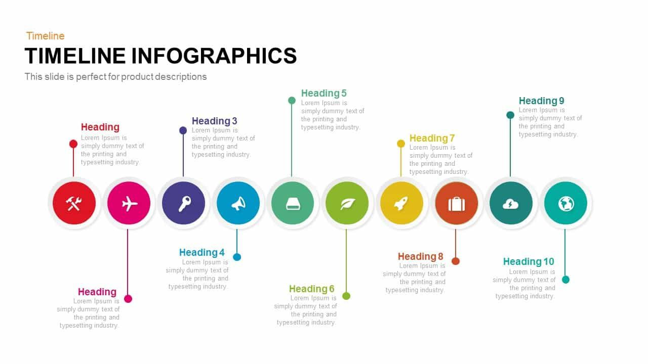 006 Excellent Timeline Template For Ppt Free Sample  Infographic Vertical DownloadFull