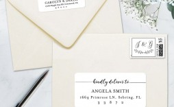 006 Excellent Wedding Addres Label Template Picture  Free Printable