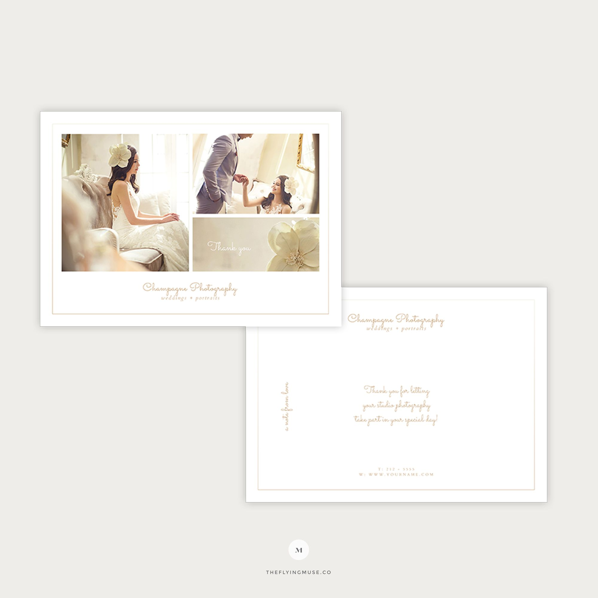 006 Excellent Wedding Thank You Card Templates. Image  Template Etsy Word PublisherFull