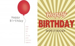 006 Exceptional Birthday Card Template Free Example  Invitation Photoshop Download Word