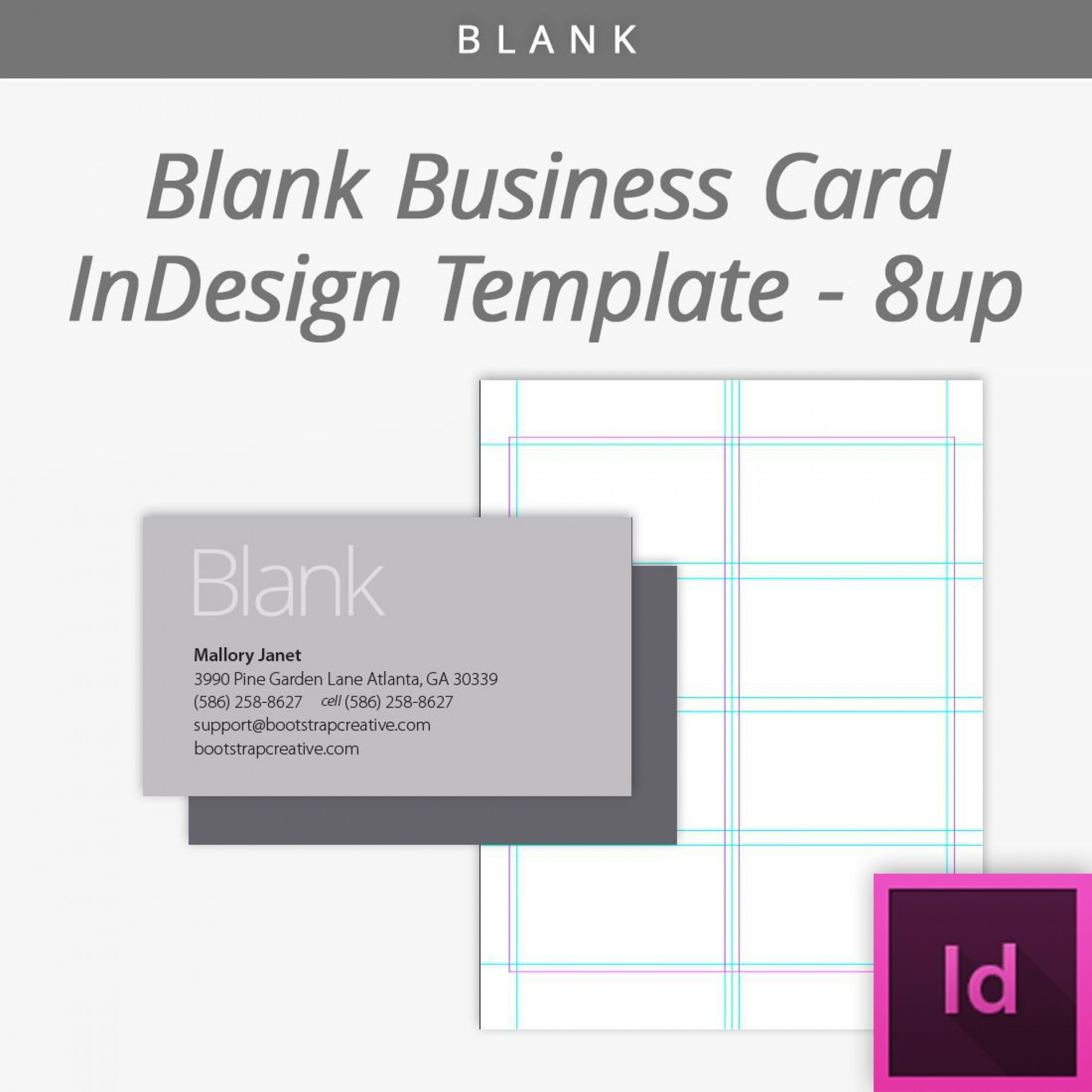 006 Exceptional Blank Busines Card Template Free Download Idea  Psd1920