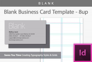 006 Exceptional Blank Busines Card Template Photoshop Photo  Free Download Psd320
