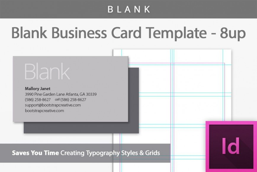 006 Exceptional Blank Busines Card Template Photoshop Photo  Free Download Psd868