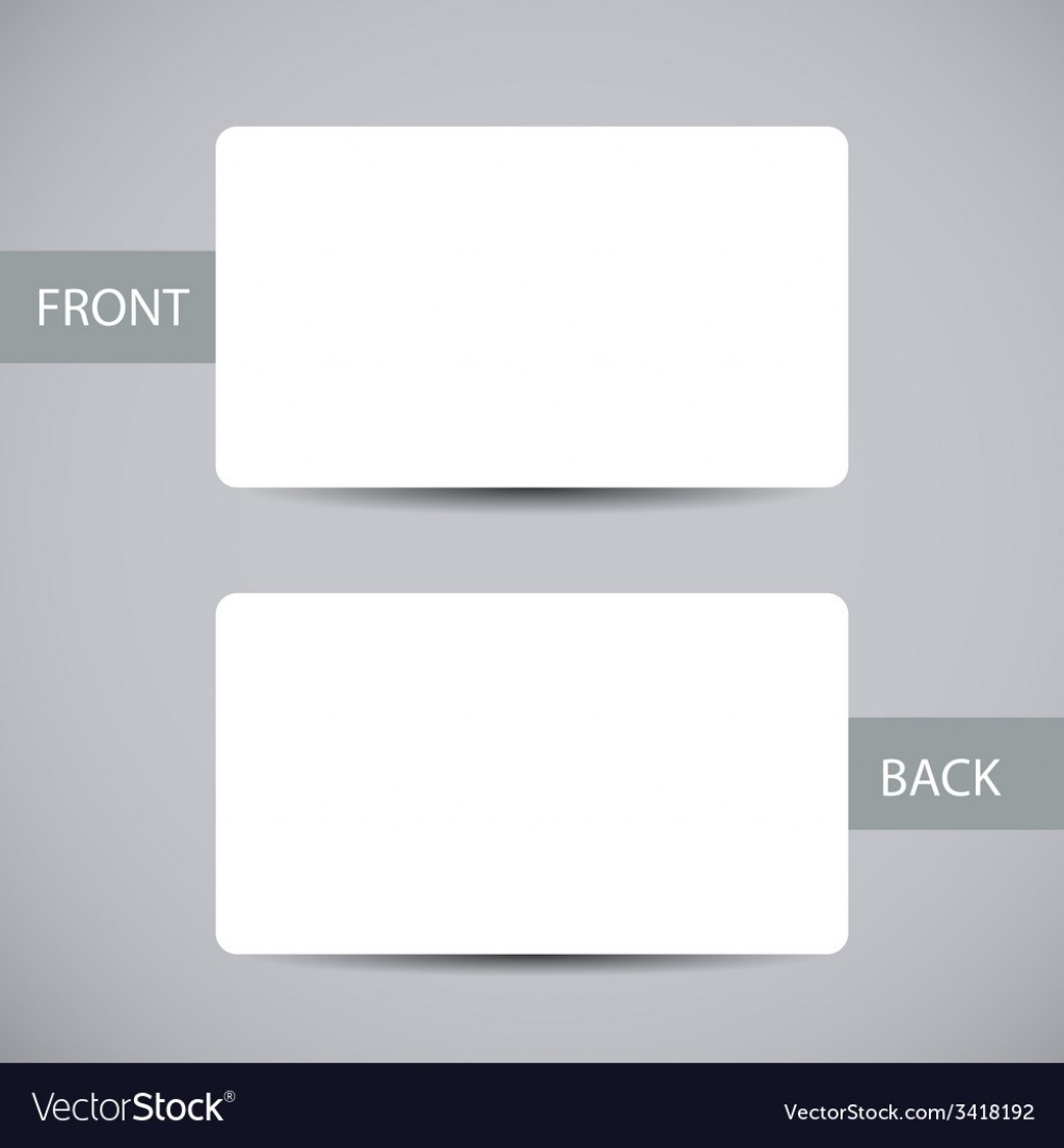 006 Exceptional Busines Card Blank Template Highest Clarity  Download FreeLarge