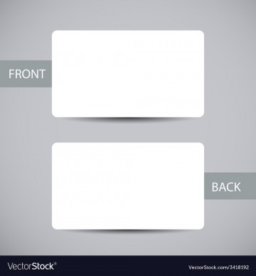 006 Exceptional Busines Card Blank Template Highest Clarity  Download Free360