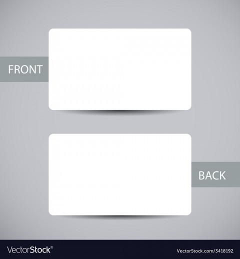 006 Exceptional Busines Card Blank Template Highest Clarity  Download Free480
