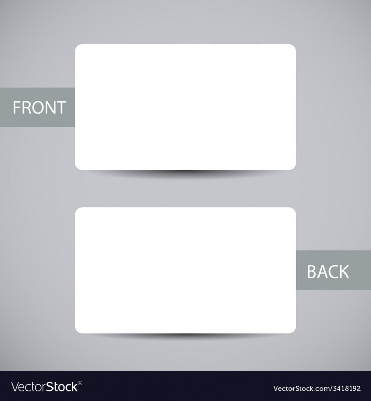 006 Exceptional Busines Card Blank Template Highest Clarity  Download Free728