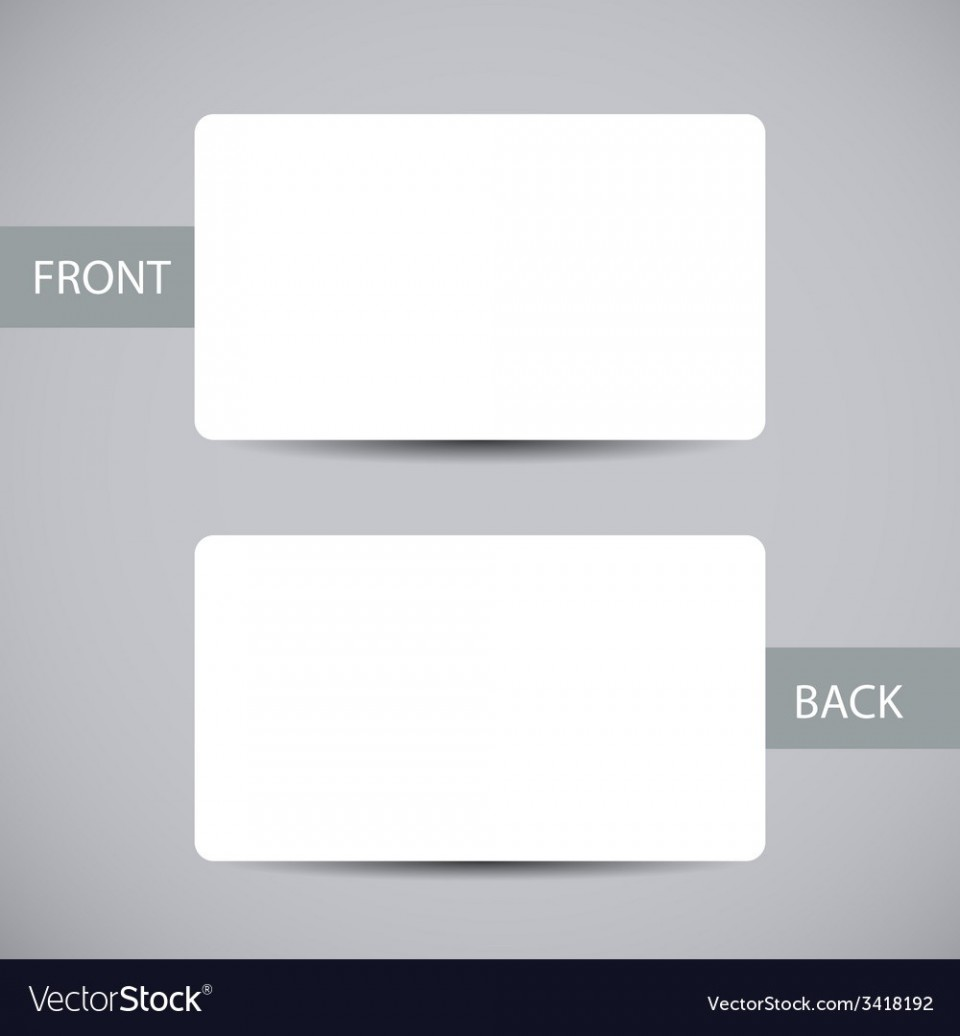 006 Exceptional Busines Card Blank Template Highest Clarity  Download Free960