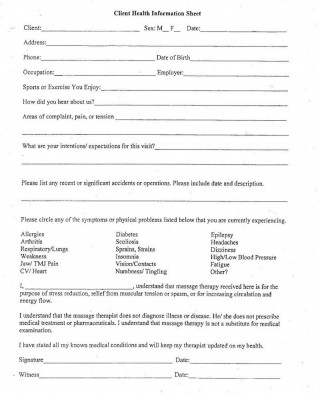 006 Exceptional Client Information Form Template Excel Inspiration 320