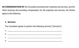 006 Exceptional Consulting Service Agreement Template Image  Sample With Retainer Form Australia