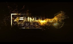 006 Exceptional Free After Effect Template Particle Logo Reveal Download Design  -
