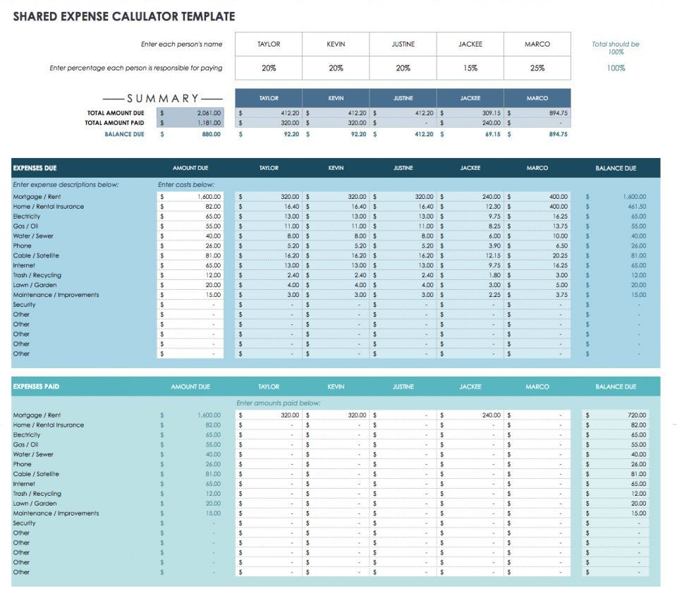006 Exceptional Free Monthly Budget Template Google Sheet Sample  Sheets PersonalFull