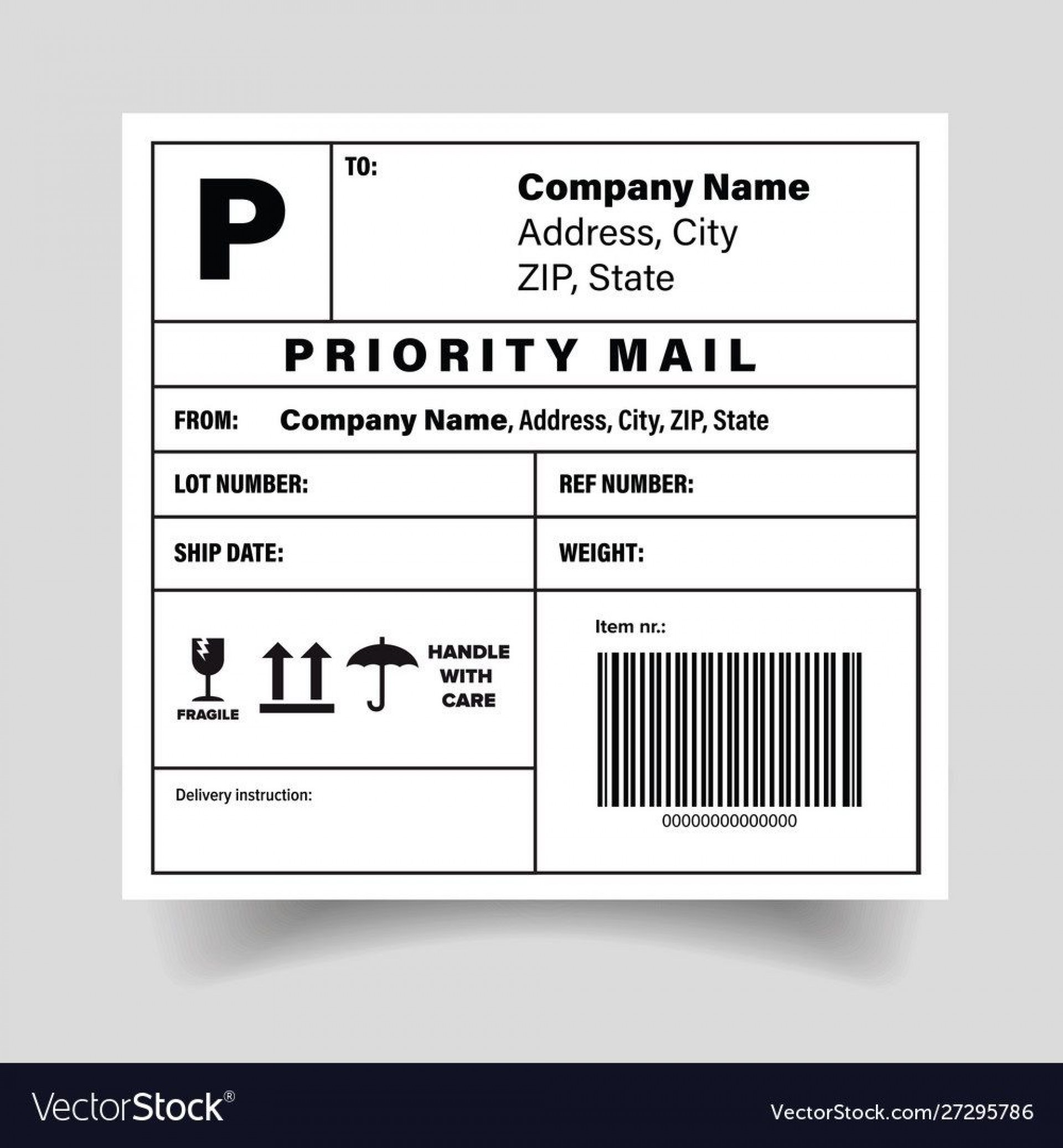 006 Exceptional Free Shipping Label Template High Def  Format Word For Mac1920