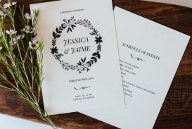 006 Exceptional Free Template For Wedding Ceremony Program Example