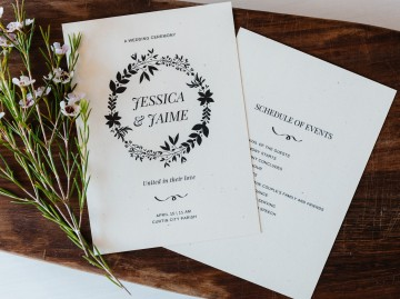 006 Exceptional Free Template For Wedding Ceremony Program Example 360