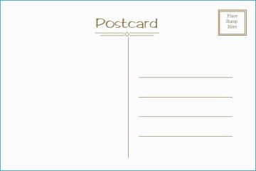 006 Exceptional Postcard Layout For Microsoft Word Highest Quality  Busines Template360