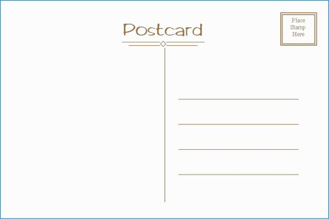 006 Exceptional Postcard Layout For Microsoft Word Highest Quality  Busines Template480