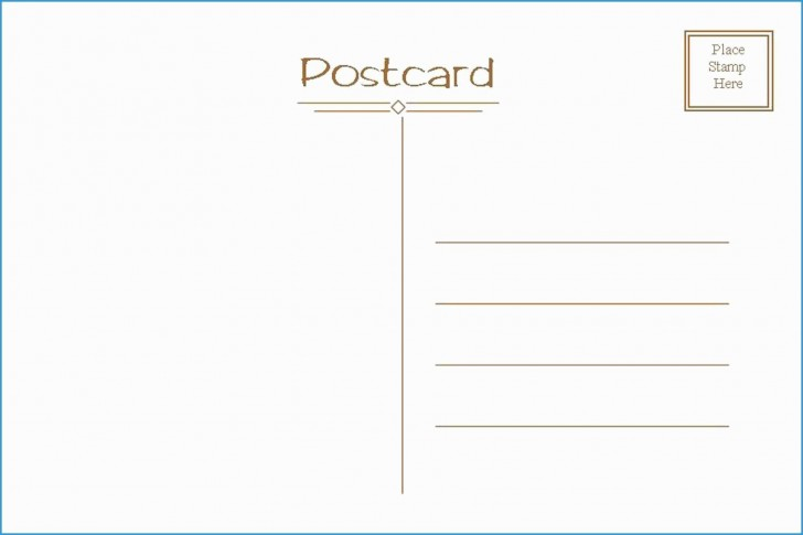 006 Exceptional Postcard Layout For Microsoft Word Highest Quality  Busines Template728