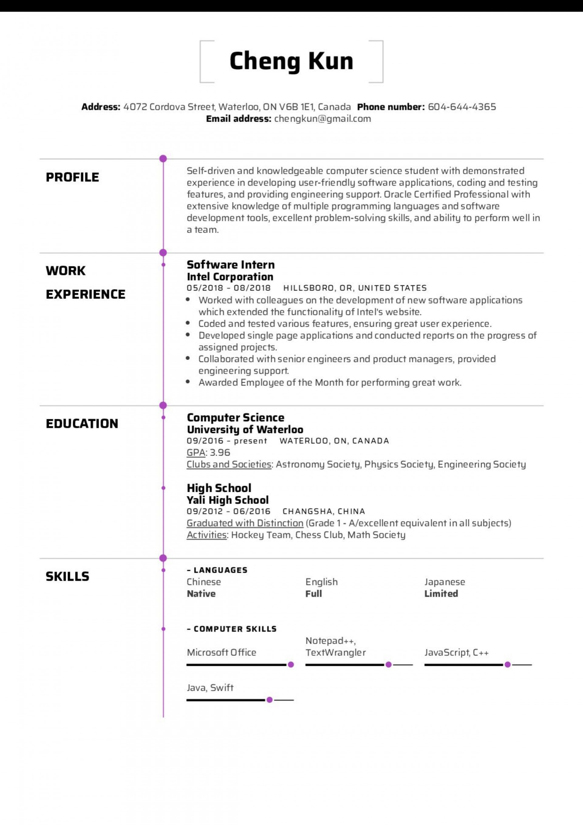 006 Exceptional Resume Template For Student Highest Clarity  Students High School Internship Google Doc Openoffice Free Download1920