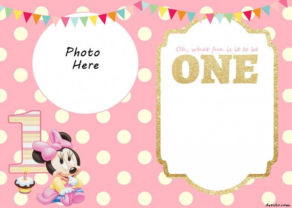 006 Fantastic 1st Birthday Invitation Template High Def  Background Design Blank For Girl First Baby Boy Free Download IndianLarge