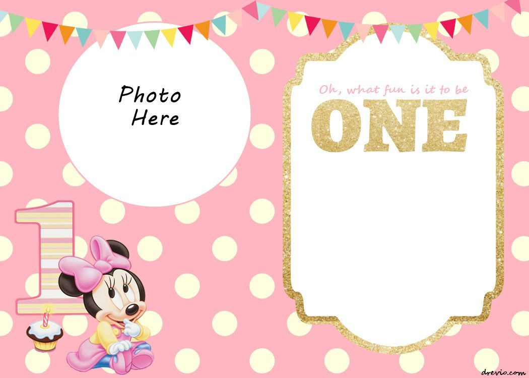 006 Fantastic 1st Birthday Invitation