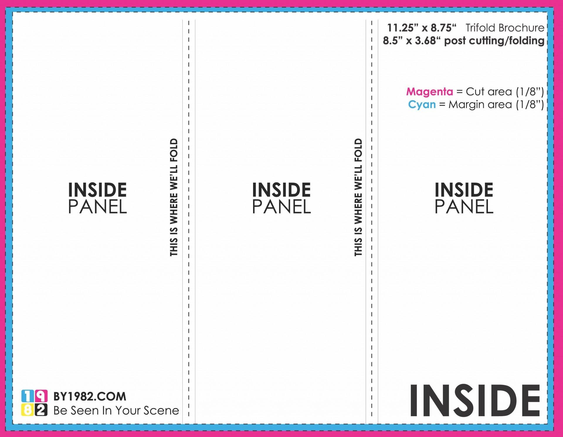 006 Fantastic Brochure Template Google Doc High Definition  Layout Blank Tri Fold1920
