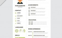 006 Fantastic Creative Resume Template Freepik Image