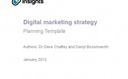 006 Fantastic Digital Marketing Plan Example Ppt Image