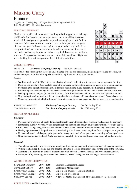 006 Fantastic Finance Resume Template Word High Definition  Financial Analyst DownloadLarge