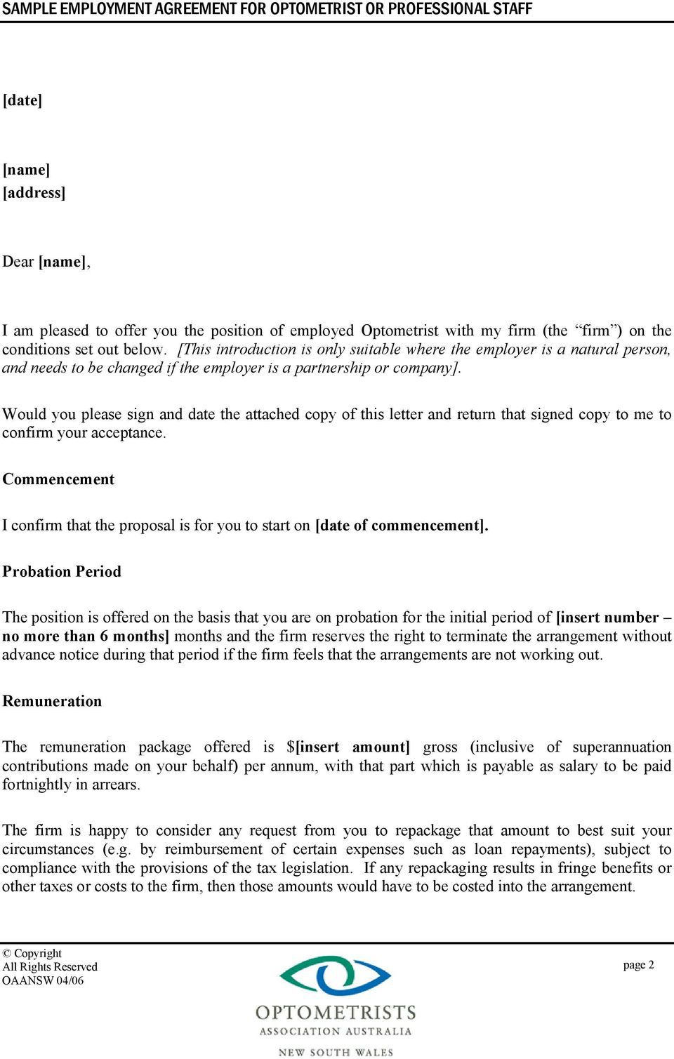 006 Fantastic Free Casual Employment Contract Template Australia Picture Full
