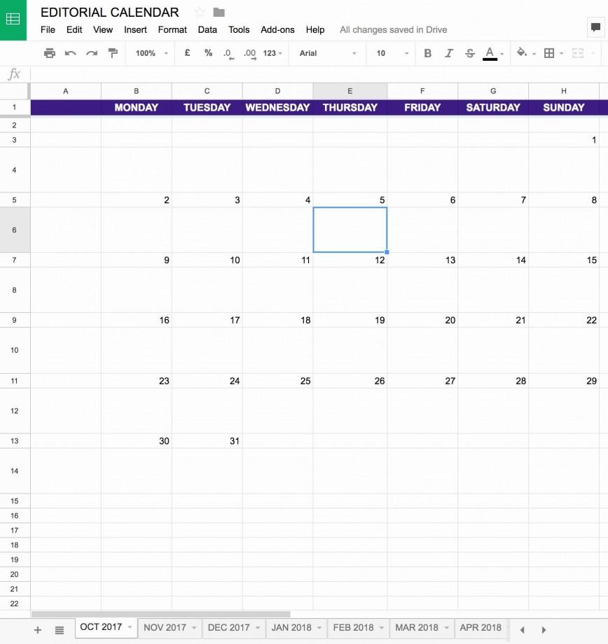 006 Fantastic Google Calendar Template 2017 Design