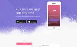 006 Fantastic Lifetracker Free Responsive Bootstrap App Landing Page Template Idea