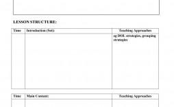 006 Fantastic Preschool Lesson Plan Template Sample  Editable With Objective Pre-k Printable