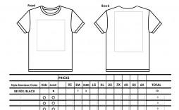 006 Fantastic Shirt Order Form Template High Definition  Tee T Microsoft Word
