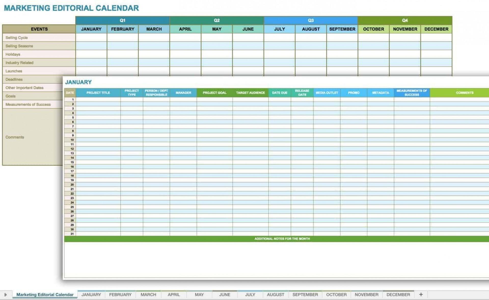 006 Fantastic Social Media Plan Template Design  Free Download Ppt Marketing Excel1920