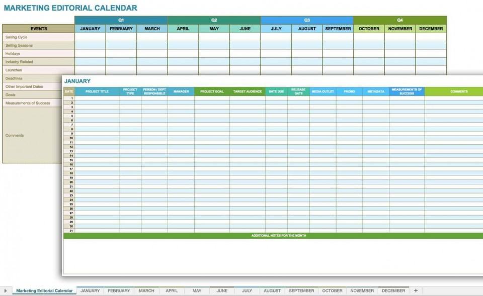 006 Fantastic Social Media Plan Template Design  Doc Download Marketing Excel960