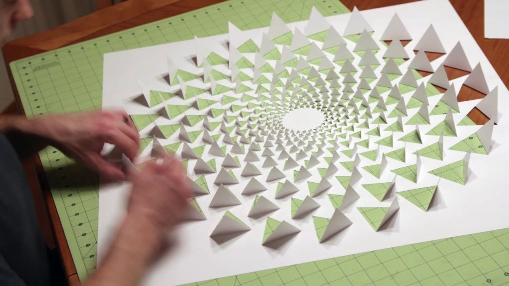 006 Fascinating 3d Paper Art Template Image  Templates PdfLarge