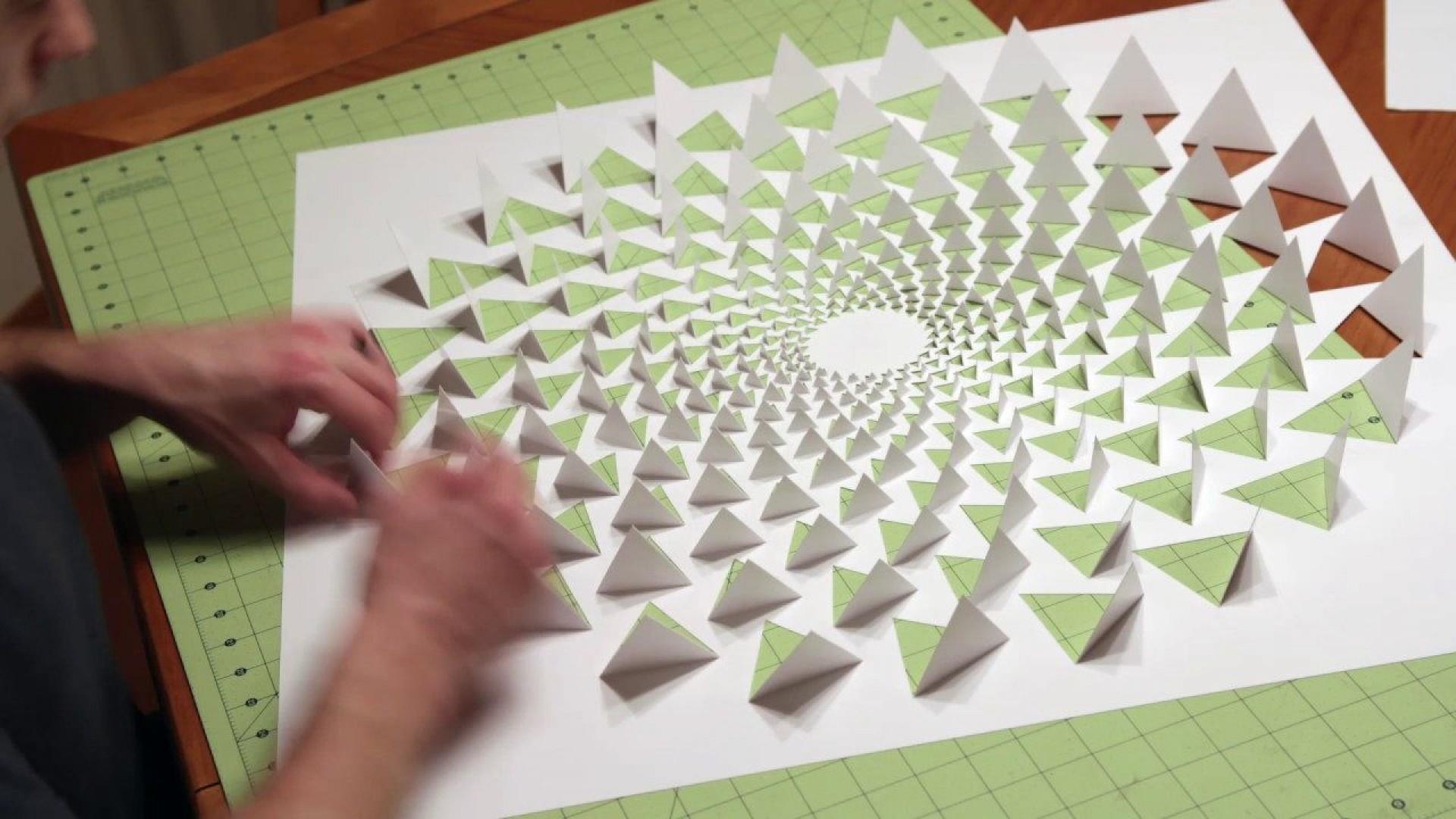 006 Fascinating 3d Paper Art Template Image  Templates Pdf1920