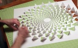 006 Fascinating 3d Paper Art Template Image  Templates Pdf