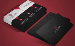 006 Fascinating Busines Card Template Free Download Sample  Psd File Pdf Ppt