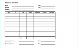 006 Fascinating Employee Time Card Sheet High Definition  Template Free Excel