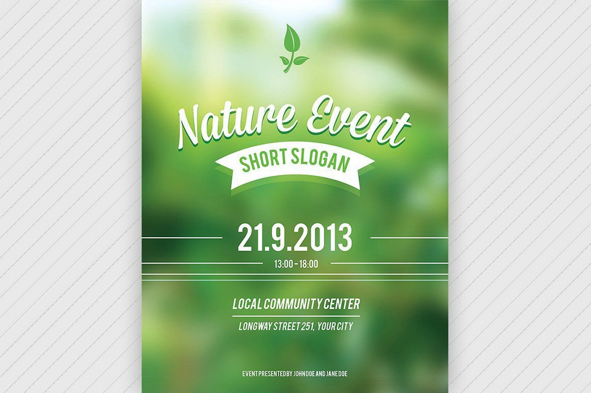 006 Fascinating Event Flyer Template Word Highest Quality  Free Spring1920