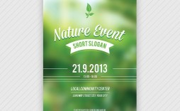 006 Fascinating Event Flyer Template Word Highest Quality  Free Spring