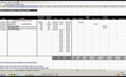 006 Fascinating Excel Busines Expense Tracking Template High Definition