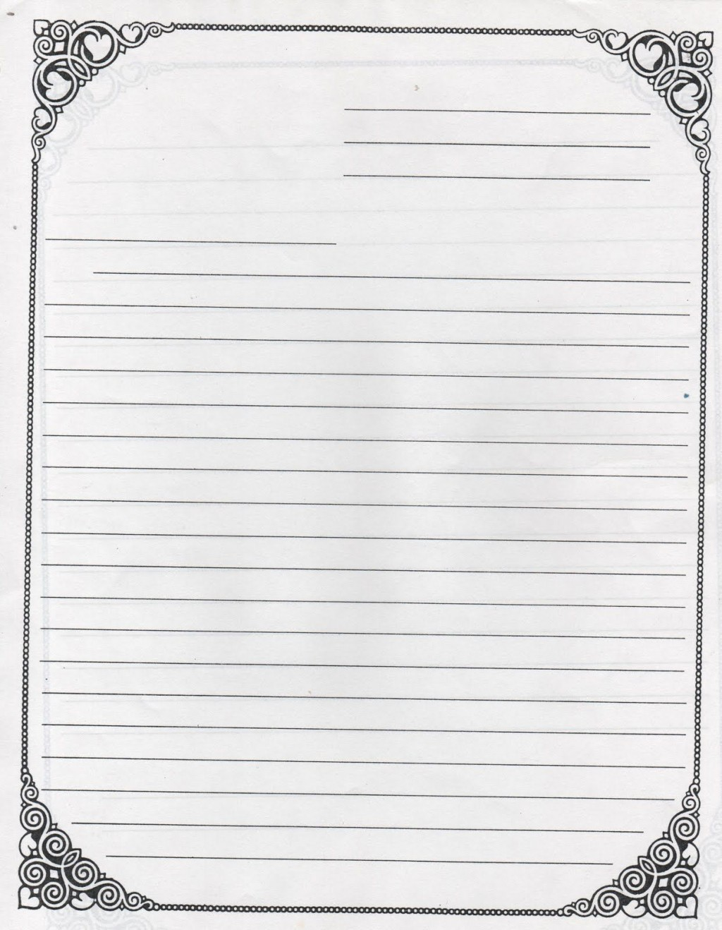 006 Fascinating Free Letter Writing Template For Student Image  StudentsLarge