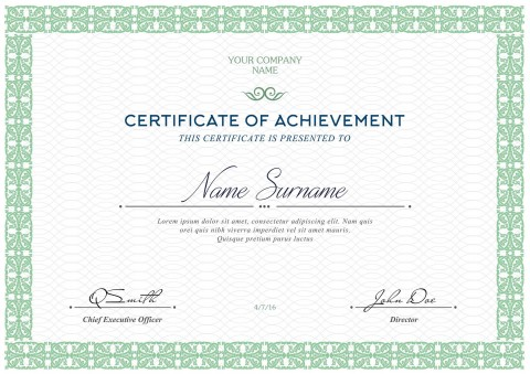 006 Fascinating Free Printable Certificate Template Highest Quality  Blank Gift For Word Pdf480