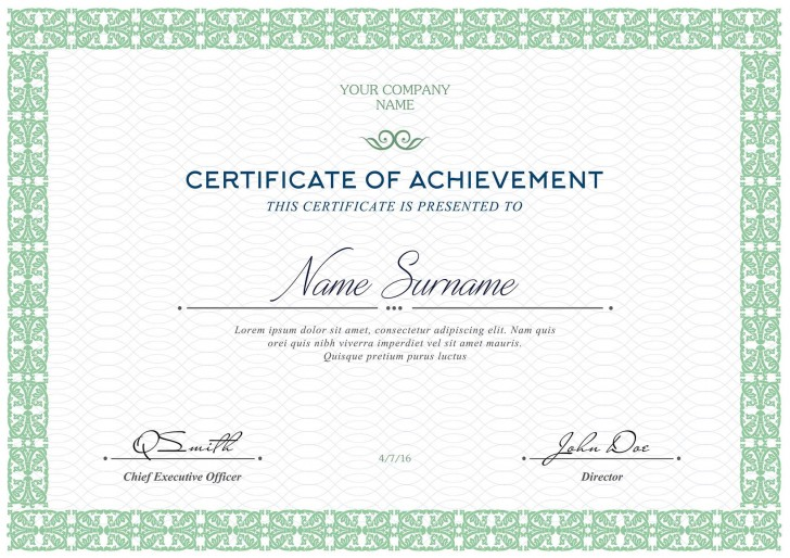 006 Fascinating Free Printable Certificate Template Highest Quality  Blank Gift For Word Pdf728